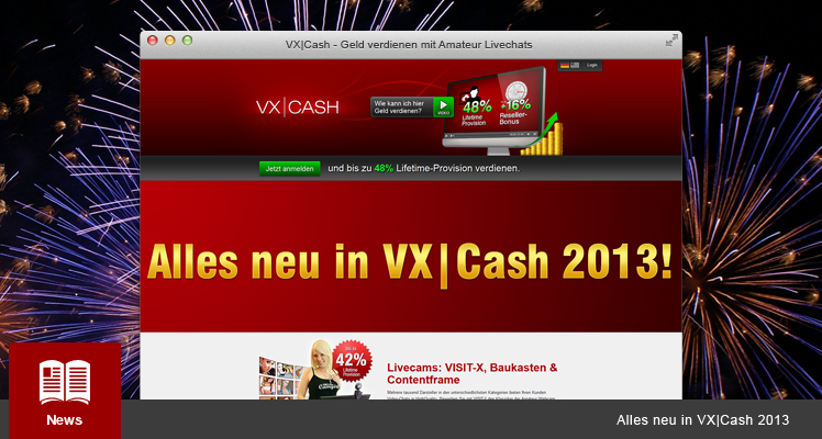 Alles neu in VX-CASH 2013