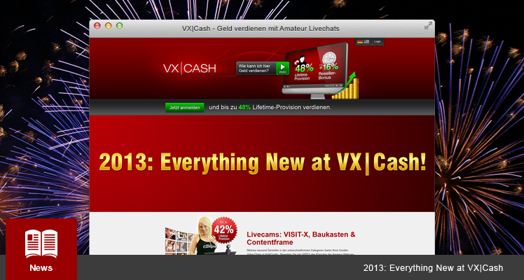 2013: Everything New at VX|cash